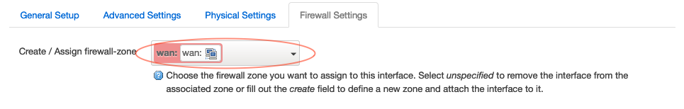 configure firewall